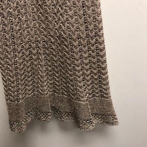 Lauren Ralph Lauren Dresses - Ralph Lauren Gold Metallic Sweater Dress